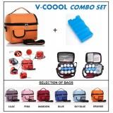 V-Coool Premium Cooler Bag & Ice Brick *COMBO*