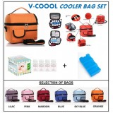 PWP : V-Coool Premium Cooler Bag Complete Set (4 bottes)