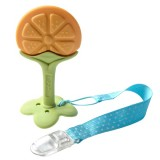 Ange Baby - Fruit Teether with Clip (Orange)