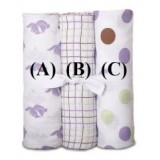 PWP : Adorable Cozy Swaddle *Mixed Design 2* (1pc)