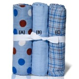 PWP : Adorable Cozy Swaddle *Mixed Design 9* (1pc)