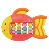 Lucky Baby - Whizzy Rattle Teether (Roller Fish)