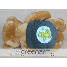 * CuddleMe - Adjustable Training Pants *GREEN ARMY*