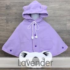 * CuddleMe - Baby Cape Solid *LAVENDER*