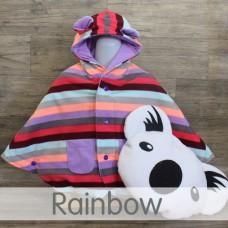 * CuddleMe - Baby Cape *RAINBOW*