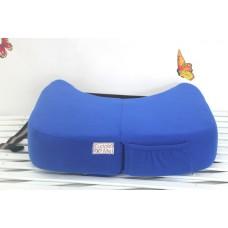 * CuddleMe - Foldable Nursing Pillow *BLUE*