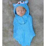 * CuddleMe - 3-in-1 Smart Towel *BLUE OWL*