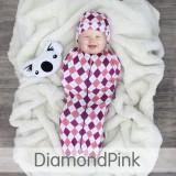 * CuddleMe - Hybrid Swaddlepod Diamond *PINK*