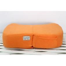 * CuddleMe - Foldable Nursing Pillow *LITE ORANGE*