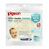 Pigeon - Cotton Swabs Thin Stem 100pcs/pack (10883)