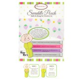 Autumnz - Swaddle Pouch (Strawberries- Lilac) *Size S*