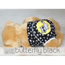 * CuddleMe - Adjustable Training Pants *BUTTERFLY BLACK*