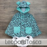 * CuddleMe - Baby Cape *LEOPARD TOSCA*