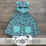 * CuddleMe - Baby Cape *LEOPARD TOSCA*