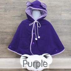 * CuddleMe - Baby Cape Solid *PURPLE*