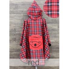 * CuddleMe - Raincoat *RED*