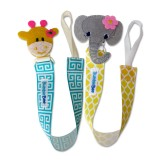 Bumble Bee - 2pc Baby Pacifier Clips *Elly & Geoff*