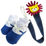 Bumble Bee - Baby Pacifier Clips with Socks Set *Lion*