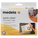 Medela - Quick Clean Micro-Steam Bags *BEST BUY*