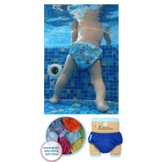 Charlie Banana - 2-in-1 Swim Diapers & Training Pants (Cupcakes on Baby Pink)