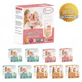 Autumnz -Double Zip Lock Breastmilk Storage Bag (10 PACKS) *7oz/10oz/12oz(28 bags)*