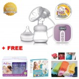 Autumnz - BLOSSOM Convertible Single Electric/Manual Breastpump *BEST BUY* w FREE GIFTS total worth RM79.40