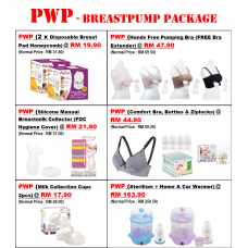 Autumnz - PASSION II (With Rechargeable Batteries) Convertible Double Electric/Manual Breastpump *VALUE PACKAGE*