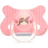 Suavinex - Fusion Soother Phisio Sil 4-18M *Pink Indian*