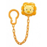 Simba - Style Pacifier Chain *Orange*