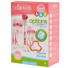 Dr Brown's - Options Narrow-Neck Bottle Gift Set *Pink*