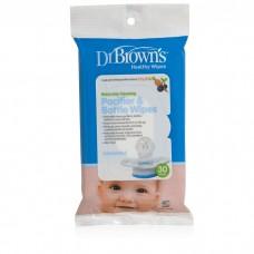 Dr Brown's - Pacifier & Bottle Wipes *BEST BUY*