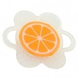 Mombella - Flower Fruit Teether (Orange) *BEST BUY*