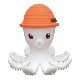 Mombella - Octopus Teether (Orange) *BEST BUY*
