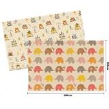 Parklon - PE Roll Mat *150x200x1cm* (Little Elephant & Owl)