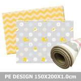Parklon - PE Roll Mat *150x200x1cm* (Little Chick & Zigzag)