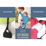 * CuddleMe - Lite Carrier Teething Pads & Foot Straps Bundle Set