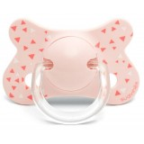Suavinex - Fusion Soother Phisio Sil 4-18M *Pink Swallow*
