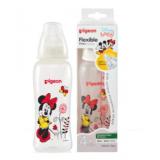 Pigeon - Flexible Streamline Disney Clear PP Nursing Bottle *250ml/8oz* (Minnie)