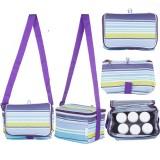 Autumnz - Fun Foldaway Cooler Bag (Roman Stripes)