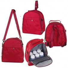 Autumnz - Classique Cooler Bag (Scarlet Checks)