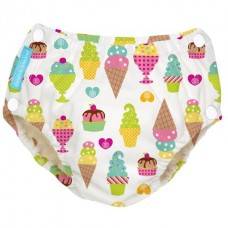 Charlie Banana - 2-in-1 Swim Diapers & Training Pants w Snaps (Gelato)