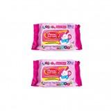 Pureen - Baby Wipes 30's x2 (Pink Packaging) *BEST BUY*