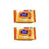 Pureen - Baby Wipes 30's x2 (Fragrance Free) *BEST BUY*