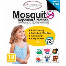 Autumnz - Mosquito Repellent Patches (18 patches / pack)