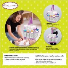 Autumnz Portable Diaper Caddy (Cutezie Blue)