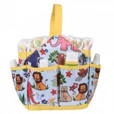 Autumnz Portable Diaper Caddy (Fun Safari)