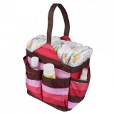 Autumnz Portable Diaper Caddy (Cheery Cherry)