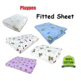 """Bumble Bee - Playpen Fitted Sheet (41""""x28""""x2"""") *Knit Fabric*"""