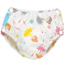 Charlie Banana - 2-in-1 Swim Diapers & Training Pants w Snaps (Diva Bellerina)