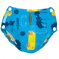 Charlie Banana - 2-in-1 Swim Diapers & Training Pants w Snaps (Malibu)